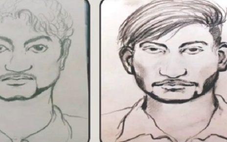 vadodara rapists new sketch