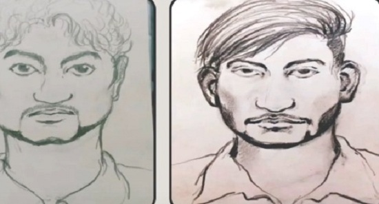 vadodara rapists new sketch