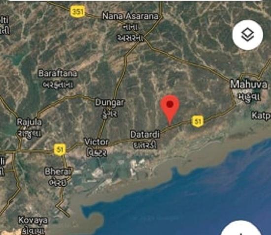 quake map