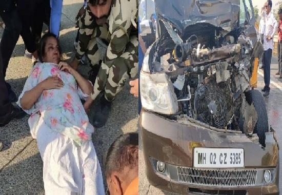 shabana car accident