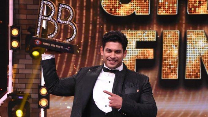 sidharth winner of bigg boss 13