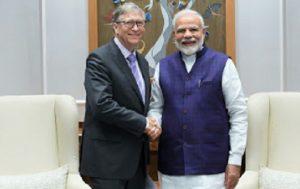 bill gates narendra modi
