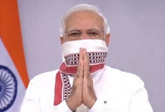 corona facecover PM Modi