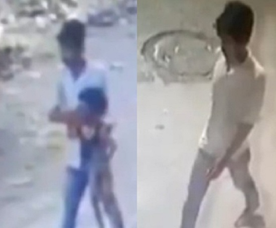 rapist carrying minor girl