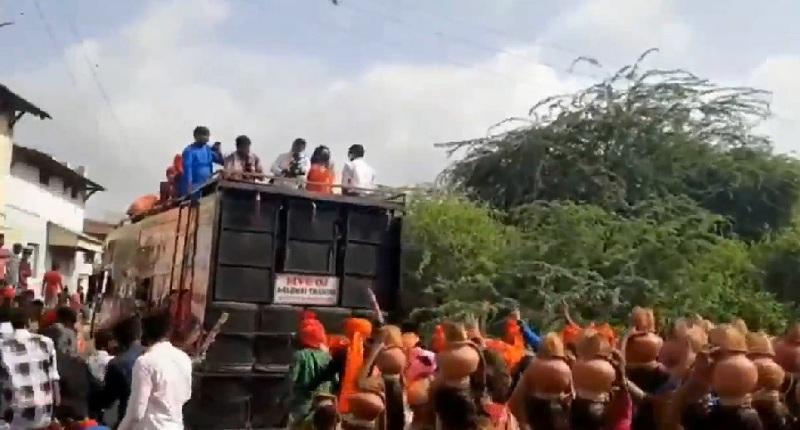 gandhinagar procession
