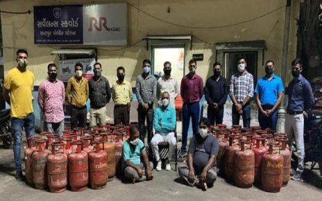 gas cylinders theft