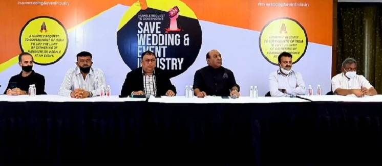 save wedding and event industry