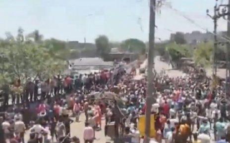 gujarat workers in lockdown