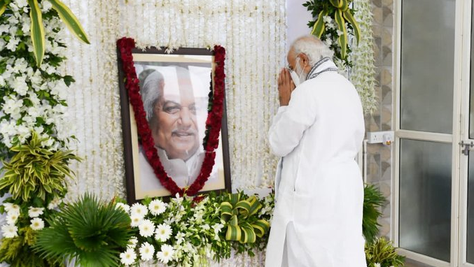 keshubhai tribute