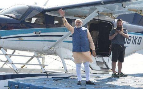 modi to launch seaplane service
