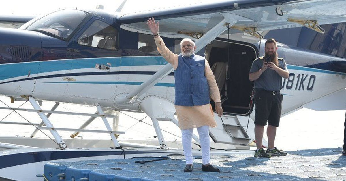 modi to launch seaplane service