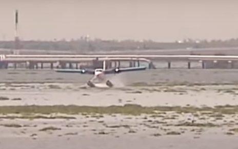 seaplane at kochi