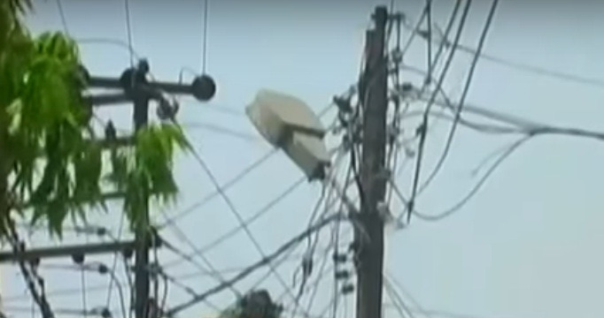 ILLEGAL ELECTRIC CONNECTION