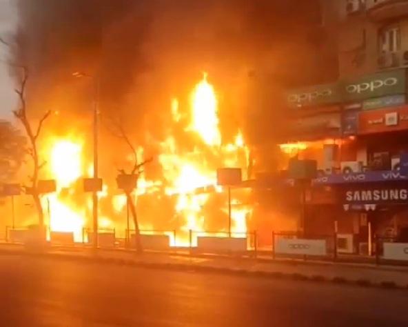 fire ahmedabad