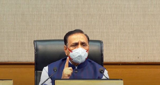 rupani on land grabbing act