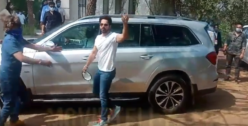 varun dhawan at alibaug