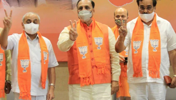 bjp win in local body elections