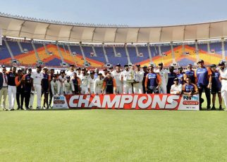 india trophy against england