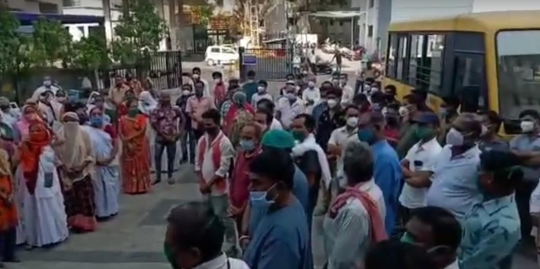 lg hospital protest