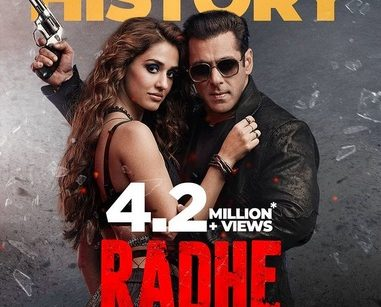 radhe million views