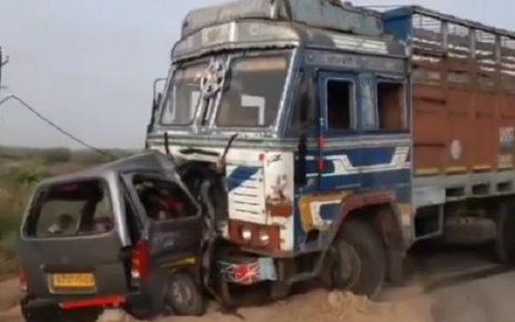 tarapur truck accident