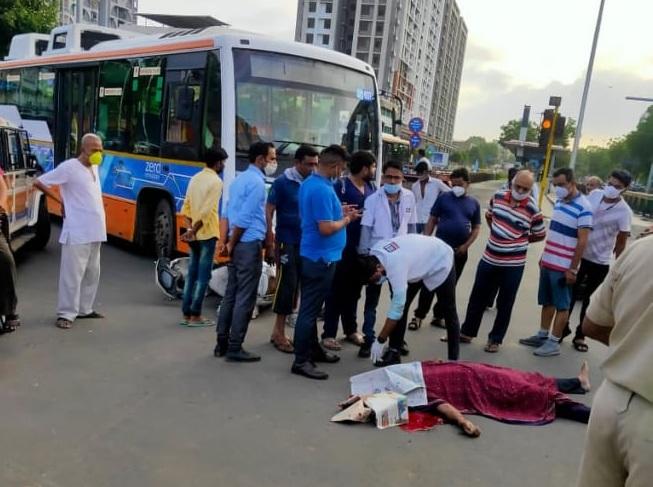 brts bus accident