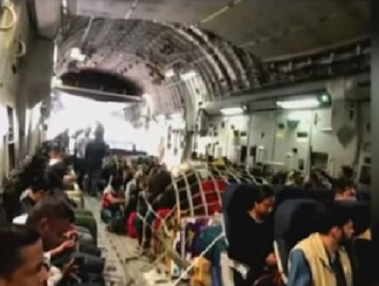 flight from kabul