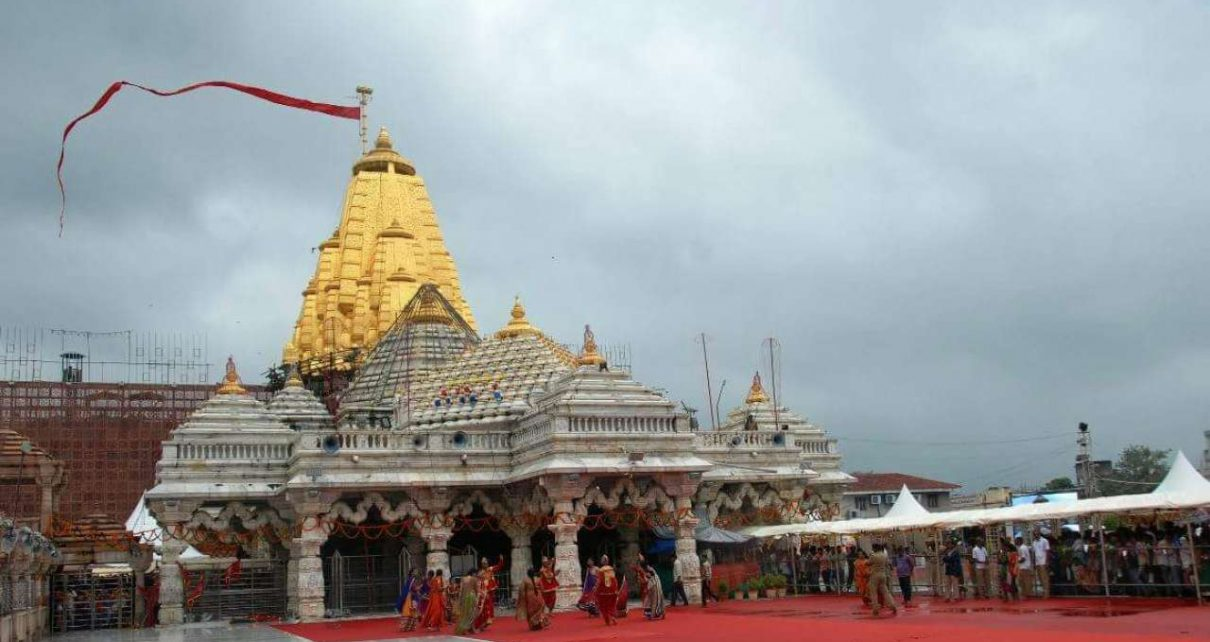 ambaji-temple on bhadarvi poonam